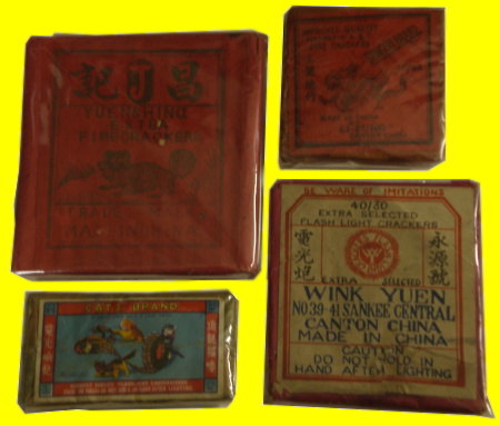 20th Century Crackers from China.