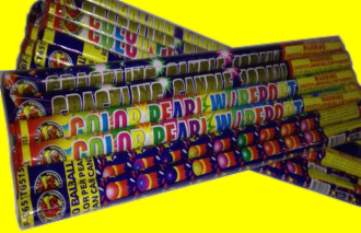 Assorted 10 Ball Roman Candles.