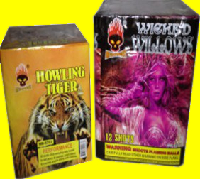 Howling Tiger and Wicked Willows.
